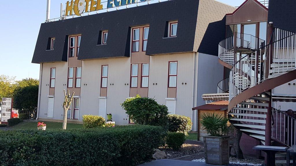 façade de l'hotel Eclipse